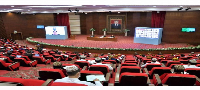 Видеовыступление Президента Туркменистана на Генеральной Ассамблее ООН обсуждалось в Институте международных отношений МИД Туркменистана