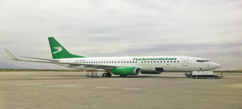 Открылся новый рейс туркменской авиакомпанией «Туркменховаёллары»
