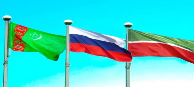 Президент Республики Татарстан РФ прибыл в Туркменистан
