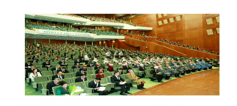 В Ашхабаде состоялось заседание Халк Маслахаты Милли Генгеша Туркменистана