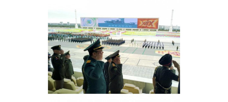 Мероприятия, посвященные 30-летнему юбилею Независимости Туркменистана